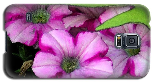 Colorful Petunias Galaxy S5 Case