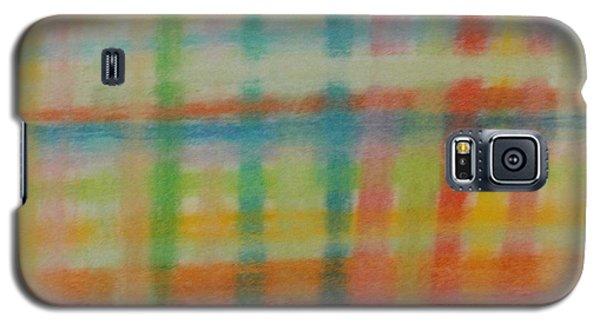 Colorful Plaid Galaxy S5 Case
