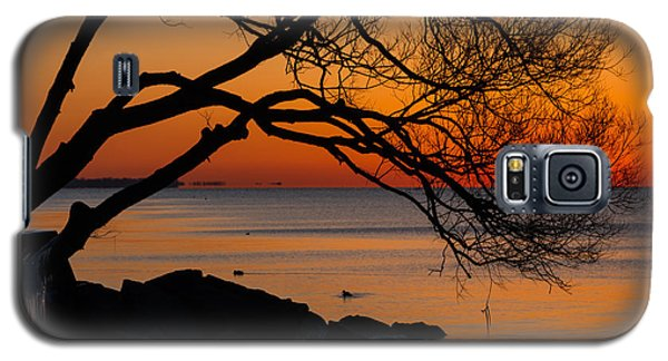 Colorful Quiet Sunrise On Lake Ontario In Toronto Galaxy S5 Case