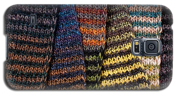 Galaxy S5 Case featuring the photograph Colorful Scarves by Les Palenik