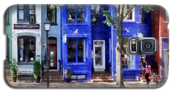 Alexandria Va - Colorful Street Galaxy S5 Case