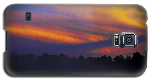Galaxy S5 Case featuring the photograph Colorful Sunset by Debra Crank