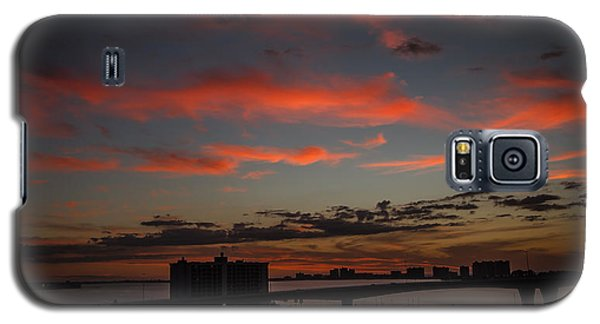 Galaxy S5 Case featuring the photograph Colorful Sunset by Jane Luxton