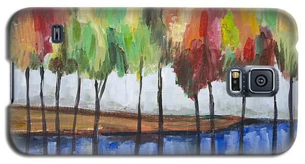 Colorful Trees  Galaxy S5 Case