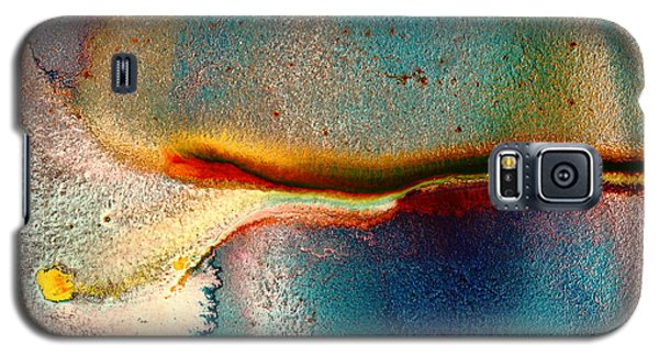 Colorful Vivid Abstract Playful Time By Kredart Galaxy S5 Case