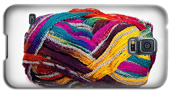 Colorful Yarn Galaxy S5 Case by Les Palenik