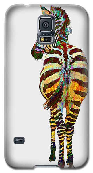 Colorful Zebra Galaxy S5 Case