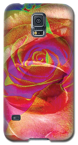 Colorfull Rose Galaxy S5 Case