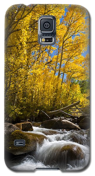 Colors And The Cascades Of South Fork Bishop Creek Galaxy S5 Case
