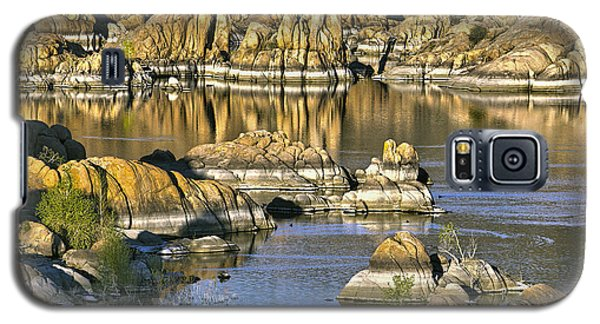 Colors In The Rocks At Watsons Lake Arizona Galaxy S5 Case