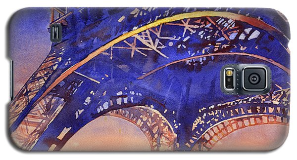 Colors Of Paris- Eiffel Tower Galaxy S5 Case
