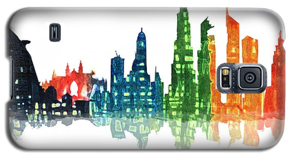 Colors Of The City Galaxy S5 Case