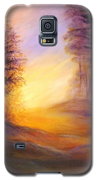 Colors Of The Morning Light Galaxy S5 Case by Lilia D