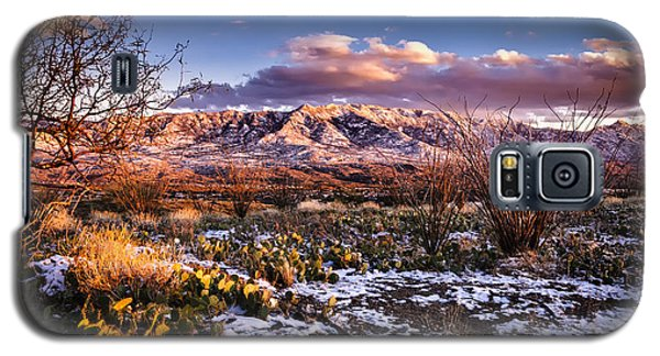Galaxy S5 Case featuring the photograph Colors Of Winter by Mark Myhaver