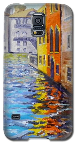 Colors On The Canal Galaxy S5 Case