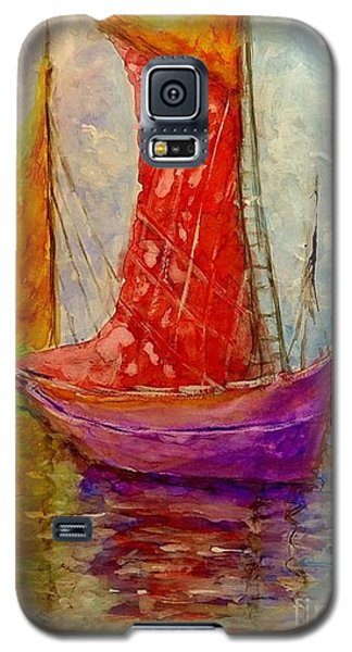Galaxy S5 Case featuring the painting Colors Symphony.. by Cristina Mihailescu