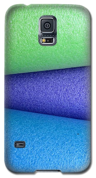 Colorscape Tubes B Galaxy S5 Case
