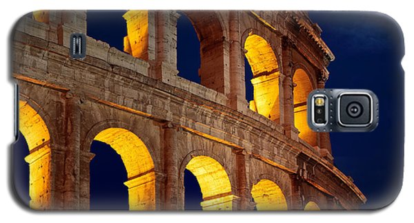 Colosseum And Moon Galaxy S5 Case