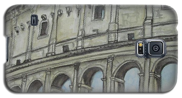 Colosseum Rome Italy Galaxy S5 Case by Malinda  Prudhomme