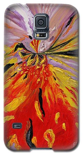Colourburst Galaxy S5 Case by Loredana Messina
