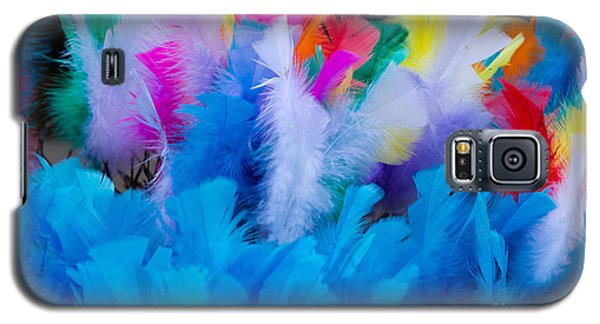 Coloured Easter Feathers Galaxy S5 Case