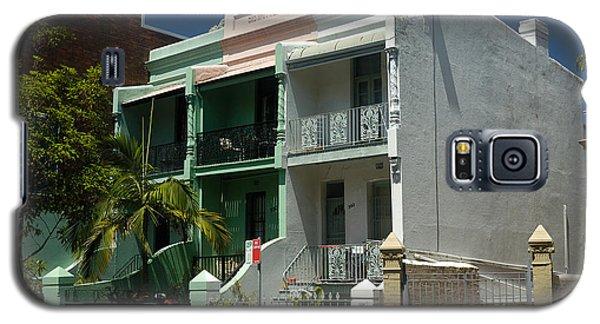 Colourful Australian Terrace House Galaxy S5 Case