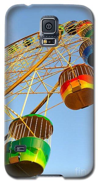 Colourful Ferris Wheel Galaxy S5 Case
