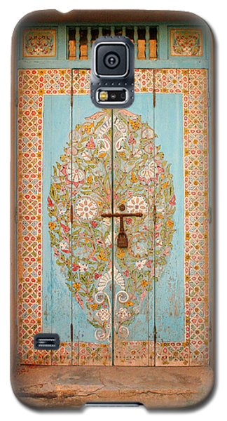 Colourful Moroccan Entrance Door Sale Rabat Morocco Galaxy S5 Case by Ralph A  Ledergerber-Photography