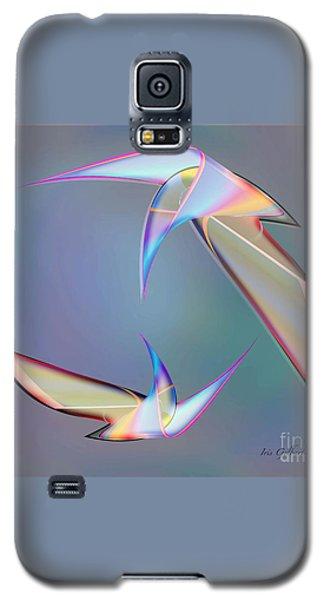 Colourful Plumage  2 Galaxy S5 Case by Iris Gelbart