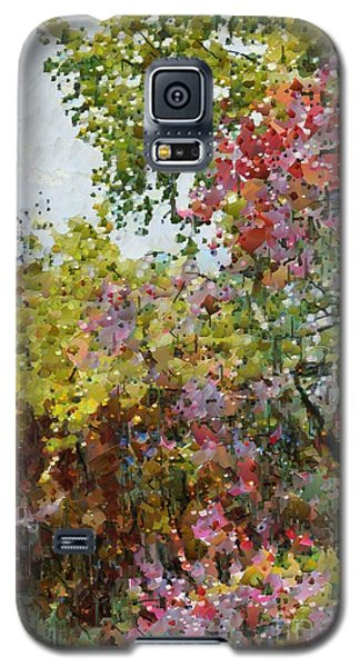 Colourful Spring Garden Galaxy S5 Case