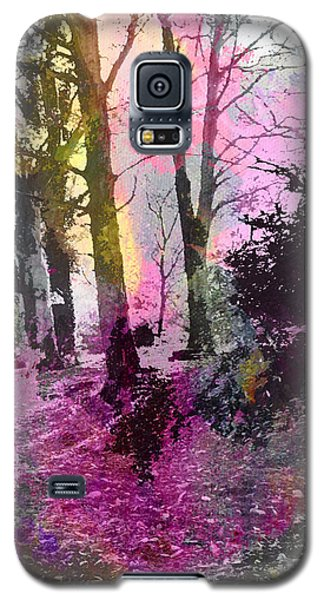 Colourful Wood Galaxy S5 Case