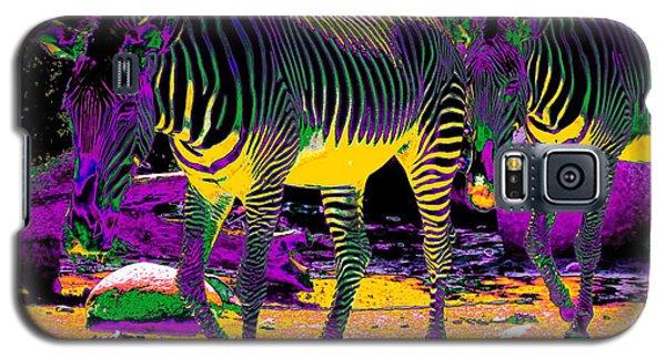 Colourful Zebras  Galaxy S5 Case