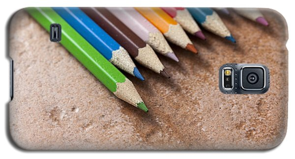 Colouring Pencils Galaxy S5 Case