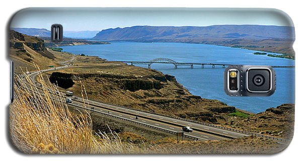Columbia River Vantage Point Galaxy S5 Case
