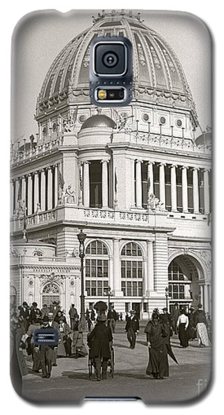 Galaxy S5 Case featuring the photograph Columbian Exposition Chocolat 1893 by Martin Konopacki Restoration
