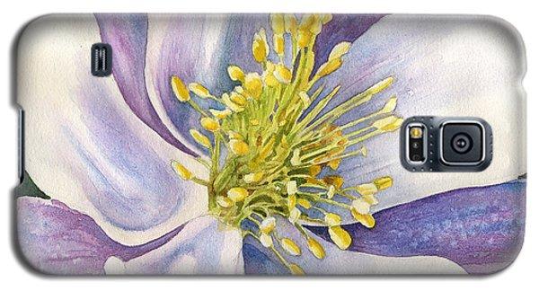 Columbine Closeup Galaxy S5 Case