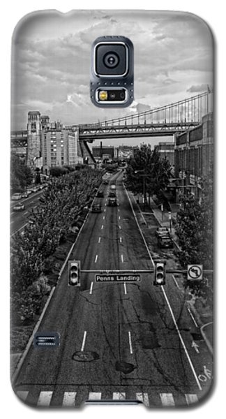 Galaxy S5 Case featuring the photograph Columbus Boulevard by Hugh Smith