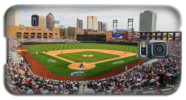 D24w-295 Columbus Clippers Photo Galaxy S5 Case