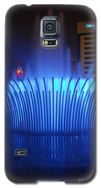 D101l-122 Scioto Mile Fountain Photo Galaxy S5 Case