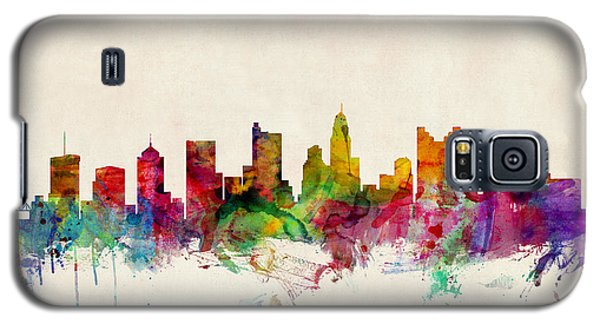 Columbus Ohio Skyline Galaxy S5 Case