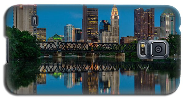 Columbus Ohio Night Skyline Photo Galaxy S5 Case