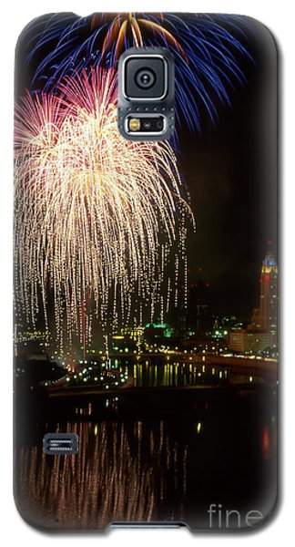 Columbus Red White And Boom Galaxy S5 Case