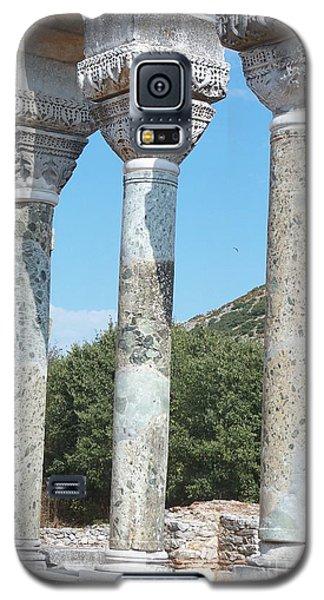 Columns Galaxy S5 Case by Marilyn Zalatan