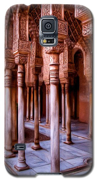 Columns Of The Court Of The Lions - Painting Galaxy S5 Case