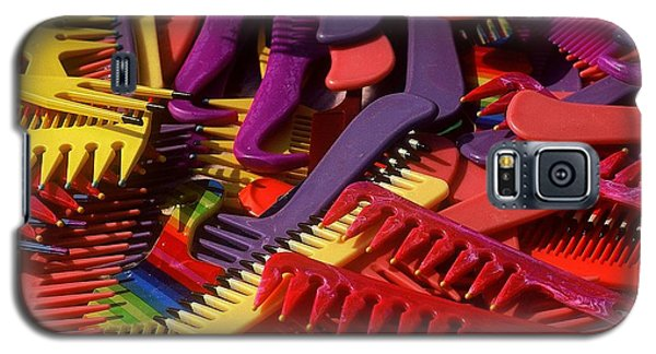 Galaxy S5 Case featuring the photograph Combs by Rodney Lee Williams