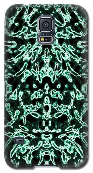 Galaxy S5 Case featuring the digital art Combustion Color Variation 11 by Devin  Cogger