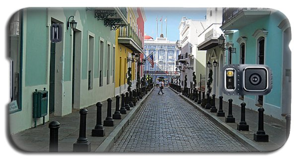 Galaxy S5 Case featuring the photograph San Juan Puerto Rico by Roberta Byram