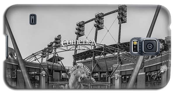 Comerica Park Black And White Galaxy S5 Case