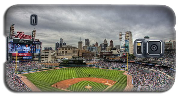 Comerica Park Home Of The Tigers Galaxy S5 Case by Shawn Everhart