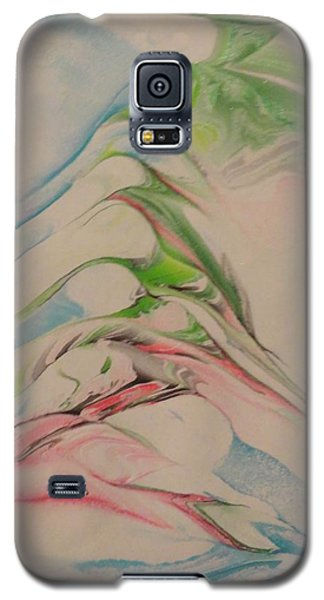 Galaxy S5 Case featuring the painting Comfort by Mike Breau